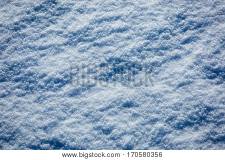 winter snow surface abstract background