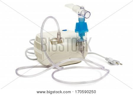 Electric Inhaler it is isolated on a white background