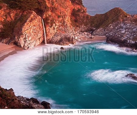Big Sur is a rugged stretch of the California central coast between Carmel and San Simeon.