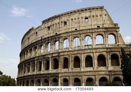 Coliseum Rome Landscape View