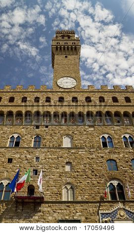 Palazzo Vecchio Below Shot