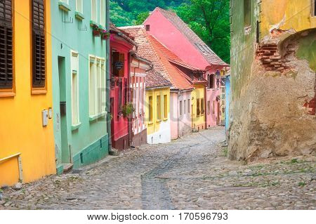 Sighisoara is a UNESCO heritage city in Romania.