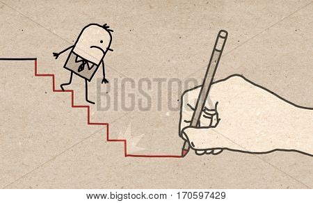 Big Hand - going down
