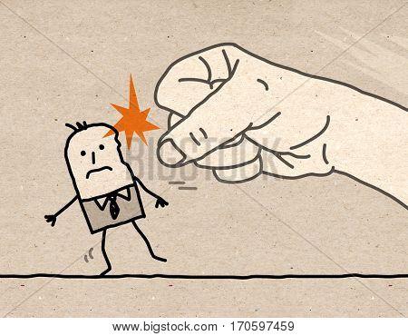 Big hand - violence