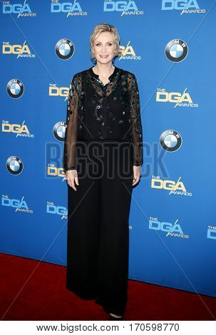Jane Lynch at the 69th Annual Directors Guild Of America Awards held at the Beverly Hilton Hotel in Beverly Hills, USA on February 4, 2017.