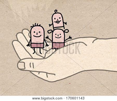 Big hand - protect