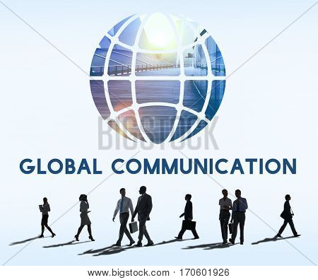 Social Networking Connection Global Communication