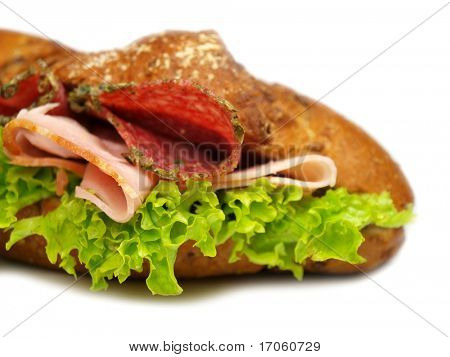 Delicious sandwich poster