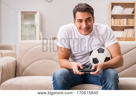 Man addicted to computer games