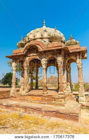 Mehrangarh Fort Mandapa.