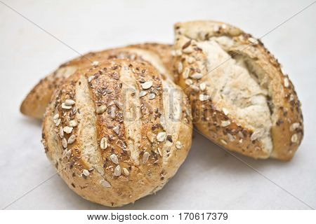 whole grain cereals  bread  loaf dough oat seed