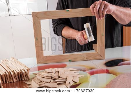 Making Frame For Photo