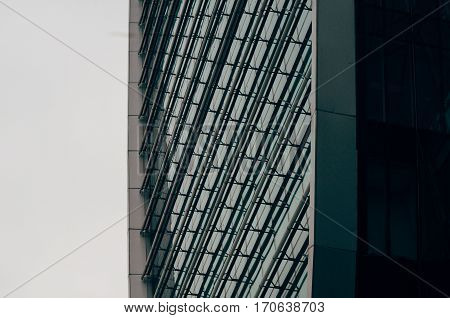 Modern Urban Architecture, Fragment Of The Building