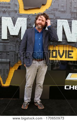 LOS ANGELES - FEB 4:  Zach Galifianakis at the