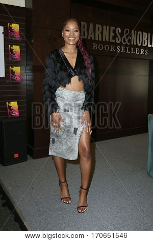 LOS ANGELES - FEB 4:  Keke Palmer at the Book Signing at Barnes & Noble at The Grove on February 4, 2017 in Los Angeles, CA