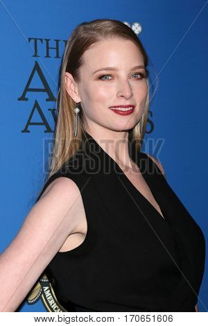 LOS ANGELES - FEB 4:  Rachel Nichols at the 31st Annual American Society Of Cinematographers Awards at Dolby Ballroom at Hollywood & Highland on February 4, 2017 in Los Angeles, CA