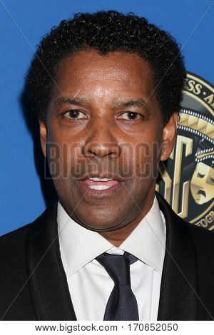 LOS ANGELES - FEB 4:  Denzel Washington at the 31st Annual American Society Of Cinematographers Awards at Dolby Ballroom at Hollywood & Highland on February 4, 2017 in Los Angeles, CA
