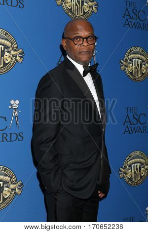 LOS ANGELES - FEB 4:  Samuel L. Jackson at the 31st Annual American Society Of Cinematographers Awards at Dolby Ballroom at Hollywood & Highland on February 4, 2017 in Los Angeles, CA