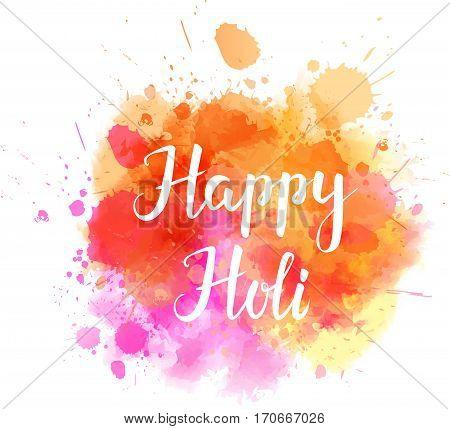 Colorful Holi Festival Background