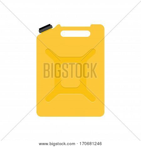 Canisters or Jerrycan Vector illustration isolated on white background.