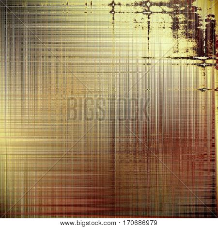 Scratched grunge background or spotted vintage texture. With different color patterns: yellow (beige); brown; gray; red (orange); pink