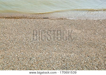Sea and shingle beach