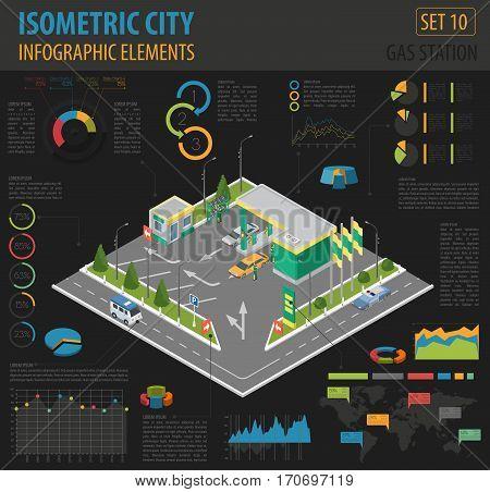 Isometric City Map Elements_6