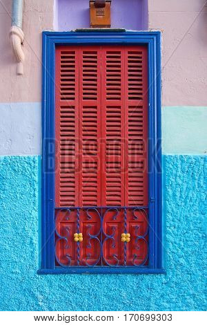 Colorful Palma Window
