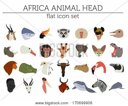 Geography Isometric Africa_22