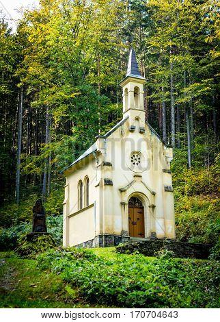 Chapel of St. Anthony near Javornik - Jeseník District of the Olomouc Region, Czechia