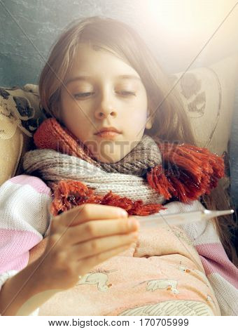Small Child Gets Sick, Treatment
