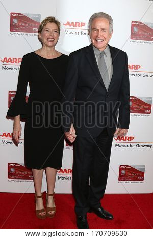 LOS ANGELES - FEB 6:  Annette Bening, Warren Beatty at the AARP Movies for Grownups Awards at Beverly Wilshire Hotel on February 6, 2017 in Beverly Hills, CA