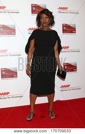 LOS ANGELES - FEB 6:  Alfre Woodard at the AARP Movies for Grownups Awards at Beverly Wilshire Hotel on February 6, 2017 in Beverly Hills, CA
