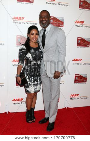 LOS ANGELES - FEB 6:  Guest, Brian McKnight at the AARP Movies for Grownups Awards at Beverly Wilshire Hotel on February 6, 2017 in Beverly Hills, CA