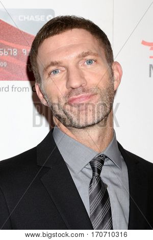 LOS ANGELES - FEB 6:  Travis Knight at the AARP Movies for Grownups Awards at Beverly Wilshire Hotel on February 6, 2017 in Beverly Hills, CA