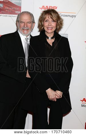 LOS ANGELES - FEB 6:  Steve Jaffe, Susan Blakely at the AARP Movies for Grownups Awards at Beverly Wilshire Hotel on February 6, 2017 in Beverly Hills, CA