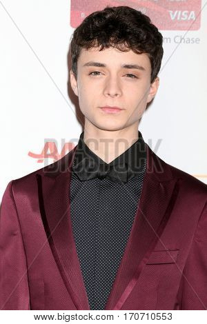 LOS ANGELES - FEB 6:  Lucas Jade Zumann at the AARP Movies for Grownups Awards at Beverly Wilshire Hotel on February 6, 2017 in Beverly Hills, CA