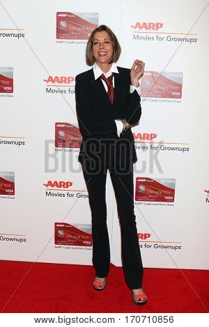 LOS ANGELES - FEB 6:  Wendie Malick at the AARP Movies for Grownups Awards at Beverly Wilshire Hotel on February 6, 2017 in Beverly Hills, CA