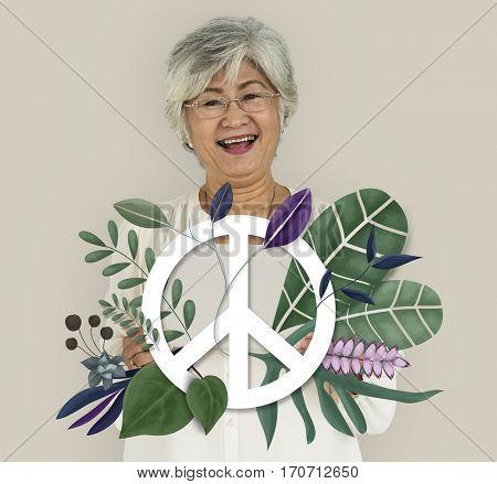 Peace Freedom Happiness High Spiritual