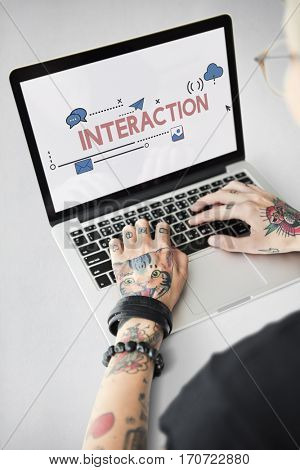 Digital Community Interaction Stay Connected Interactive