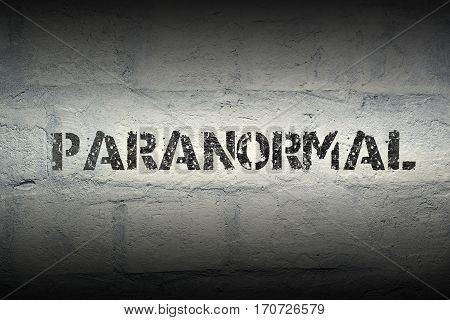 Paranormal Word Gr