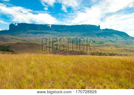 Roraima Table Mountain, Great Savanna, Canaima National Park, Venezuela