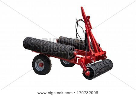 Tractor rollers used in agriculture before and after each seeding mainly for crushing large fragments of previous soil tillage sowing. When this is achieved, and substantially aligning the soil surface and the compaction of the soil after sowing.