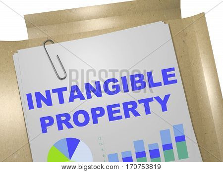 Intangible Property - Business Concept