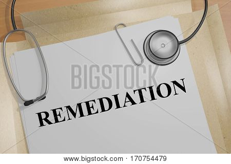 Remediation - Medical Concept
