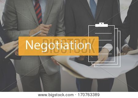 Deal Agreement Commitment Negotiation Business