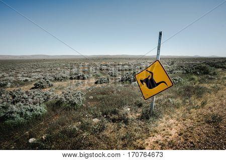Signpost in the Flinders Ranges, Australia
