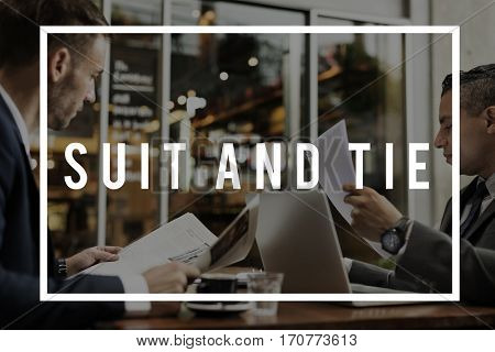 Suit and Tie Formal wear Tailor made Business
