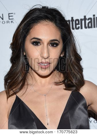 LOS ANGELES - JAN 28:  Gabrielle Ruiz arrives to the Entertainment Weekly Pre Sag Awards Celebration on January 28, 2017 in Hollywood, CA