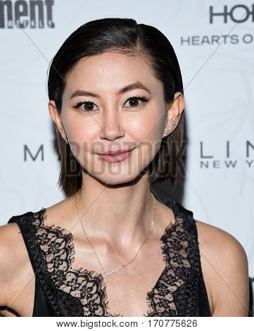 LOS ANGELES - JAN 28:  Kimiko Glenn arrives to the Entertainment Weekly Pre Sag Awards Celebration on January 28, 2017 in Hollywood, CA